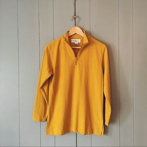 Vintage Oleg Cassini Mustard Yellow Pullover